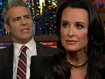 ¿Watch What Happens Live¿ Host Andy Cohen was joined by Kyle Richards from ¿Real Housewives of Beverly Hills,¿ and actress Lisa Edelstein, star of ¿Girlfriends' Guide to Divorce.¿