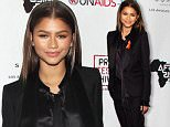 Inaugural World Aids Day Benefit presented by UNaids-USA and Africa Rising - Los Angeles\n\nPictured: Zendaya Coleman\nRef: SPL1187529  011215  \nPicture by: Jen Lowery / Splash News\n\nSplash News and Pictures\nLos Angeles: 310-821-2666\nNew York: 212-619-2666\nLondon: 870-934-2666\nphotodesk@splashnews.com\n