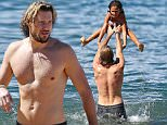 26 Nov 2015 - Kihei -  Hawaii\n*** STRICTLY AVAILABLE FOR UK AND GERMANY USE ONLY ***\n*** EXCLUSIVE ALL ROUND PICTURES *** \nGabriel Aubry enjoys time in the ocean with his daughter Nahla Ariela Aubry. The two laugh and play together on the beach. Mother Halle Berry and Gabriel have ongoing custody issues with their daughter Nahla.\nBYLINE MUST READ : XPOSUREPHOTOS.COM\n***UK CLIENTS - PICTURES CONTAINING CHILDREN PLEASE PIXELATE FACE PRIOR TO PUBLICATION ***\n*UK CLIENTS MUST CALL PRIOR TO TV OR ONLINE USAGE PLEASE TELEPHONE 0208 344 2007*\n