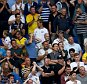 READING, ENGLAND - AUGUST 16:  A general view of Leeds United fans during the Sky Bet Championship match between Reading and Leeds United at Madejski Stadium on August 16, 2015 in Reading, England.  (Photo by Martin Willetts/Getty Images)