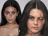 01 Dec 2015\nKim Kardashian\nItalian artist Alexsandro Palombo disfigures (in photos) eight international stars to denounce violence against women worldwide.\nBYLINE MUST READ : NO CREDIT\n*AVAILABLE FOR UK SALE ONLY*\n***UK CLIENTS - PICTURES CONTAINING CHILDREN PLEASE PIXELATE FACE PRIOR TO PUBLICATION ***\n**UK CLIENTS MUST CALL PRIOR TO TV OR ONLINE USAGE PLEASE TELEPHONE  +44 208 344 2007