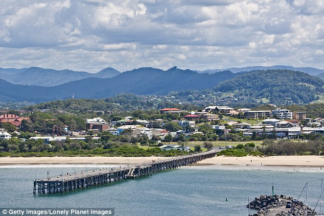 Coffs Harbour was another town chosen to take asylum seekers, along with Newcastle, Wagga Wagga and others