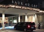 A general view shows the entrance of the Hotel Baur au Lac in Zurich on December 3, 2015 where Swiss authorities conducted an early-morning operation to arrest several FIFA football officials. Swiss authorities arrested several football officials in a fresh wave of dawn raids early on December 3 in a dramatic widening of the FIFA corruption scandal, the New York Times reported. AFP PHOTO / BEN SIMONBEN SIMON/AFP/Getty Images