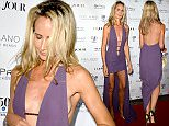 Lady Victoria Hervey has a wardrobe malfunction as she attends DuJour Magazine's Jason Binn Celebrates Annual Art Basel Miami Beach Kick-Off Party at Delano Beach Club on December 1, 2015 in Miami Beach, Florida.  Pictured: Lady Victoria Hervey Ref: SPL1187913  011215   Picture by: Brock Miller  Splash News and Pictures Los Angeles: 310-821-2666 New York: 212-619-2666 London: 870-934-2666 photodesk@splashnews.com