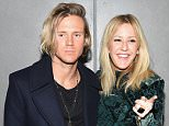 NEW YORK, NY - OCTOBER 20:  Singers Ellie Goulding (R) and Dougie Poynter attend the BALMAIN X H&M Collection Launch at 23 Wall Street on October 20, 2015 in New York City.  (Photo by Nicholas Hunt/Getty Images for H&M)
