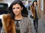 Picture Shows: Lucy Mecklenburgh  December 02, 2015    Former 'The Only Way Is Essex' star Lucy Mecklenburgh seen arriving at the train station in Essex, England to catch a train to London.    Lucy was dressed stylishly in a houndstooth coat, a dress from prettylittlething.com and a Lebante shoulder bag.    Exclusive All Rounder  WORLDWIDE RIGHTS  Pictures by : FameFlynet UK © 2015  Tel : +44 (0)20 3551 5049  Email : info@fameflynet.uk.com