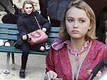 December 2nd, 2015 - Paris  ****** Exclusive Pictures******  ****** Do Not Credit ******  After numerous argument with her mum Vanessa Paradis regarding her lifestyle, Lily-Rose Depp has moved out of her family house. Vanessa is less than happy to see her daughter going out every night until early hour in the morning, and coming back worse for wear every time. The 16-year-old daughter,  Lily-Rose Depp has moved to her aunt Alysson Paradis.  Johnny Depp and Vanessa Paradis 16-year-old daughter,  Lily-Rose Depp enjoys the day with her maternal aunt, French actress Alysson Paradis and her boyfriend actor Guillaume Gouix and their newly born baby.  ****** No Web Usage before agreement ******  ****** Stricly No Mobile Phone Application or Apps use without our Prior Agreement ******  Enquiries at photo@spreadpictures.com