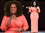 epa05052604 A picture made available on 03 December 2015 shows US talk show host Oprah Winfrey on stage for the start of her show An Evening with Oprah at Rod Laver Arena in Melbourne, Australia, 02 December 2015. Oprah Winfrey performed in her first Australian show as part of a multi-city arena tour.  EPA/TRACEY NEARMY AUSTRALIA AND NEW ZEALAND OUT