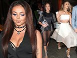 UK girlband Little Mix are seen here leave The Cosmopolitan Ultimate Women Of The Year Awards 2015 held at One Mayfair in London.  Pictured: Jade Thirlwall Ref: SPL1188538  021215   Picture by: WeirPhotos / Splash News  Splash News and Pictures Los Angeles: 310-821-2666 New York: 212-619-2666 London: 870-934-2666 photodesk@splashnews.com