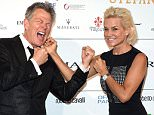 FLORENCE, ITALY - SEPTEMBER 07:  David Foster and Yolanda Foster attend 'Celebrity Fight Night In Italy' Gala at the Palazzo Vecchio on September 7, 2014 in Florence, Italy.  (Photo by Venturelli/Getty Images)