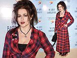 LONDON, ENGLAND - DECEMBER 02:  ACtor Helena Bonham Carter arrives on the sand carpet at Australia House attending the special screening event of David Attenborough's new series on the Great Barrier Reef (produced by Atlantic Productions), hosted by the Australian High Commission and Tourism Australia at Australia House on December 2, 2015 in London, England.  (Photo by Stuart C. Wilson/Getty Images for Tourism Australia)