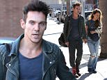 Beverly Hills, CA - Jonathan Rhys Meyers and his girlfriend Victoria walk hand in hand as she carries an adorable puppy in Beverly Hills. Jonathan looks to be doing well in recovery from alcohol.  AKM-GSI      December 2, 2015 To License These Photos, Please Contact : Steve Ginsburg (310) 505-8447 (323) 423-9397 steve@akmgsi.com sales@akmgsi.com or Maria Buda (917) 242-1505 mbuda@akmgsi.com ginsburgspalyinc@gmail.com