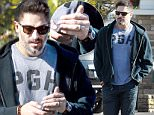 EXCLUSIVE Coleman-Rayner. \nLos Angeles, CA, USA. December 02, 2015 \nNewlywed Joe Manganiello is pictured wearing his wedding ring in public for the first time since tying the knot with Sofia Vergara. The Magic Mike hunk was spotted flashing his new accessory while heading into the Grove in LA. Joe and Sofia married on November 22 in Palm Beach, Florida.\nCREDIT LINE MUST READ: Coleman-Rayner\nTel US (001) 310 474 4343 - office \nTel US (001) 323 545 7584 - cell\nwww.coleman-rayner.com
