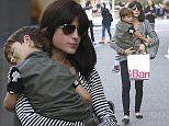 Selma Blair and her son Arthur Bleick shop at Crate and Barrel at The Grove mall in West Hollywood, California  Pictured: Selma Blair, Arthur Bleick Ref: SPL1187935  021215   Picture by: Splash News  Splash News and Pictures Los Angeles: 310-821-2666 New York: 212-619-2666 London: 870-934-2666 photodesk@splashnews.com