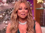 "27 November 2015 - NEW YORK - USA **** STRICTLY NOT AVAILABLE FOR USA USAGE *** SINGER MARIAH CAREY GAVE NEW DETAILS ABOUT HER RELATIONSHIP WITH AUSTRALIAN BILLIONAIRE JAMES PACKER ON THE STEVE HARVEY SHOW. ""WE FIRST MET IN ASPEN,"" SHE REVEALS DURING THE INTERVIEW ""WE WERE AT THE HERCULES PREMIERE. WE WERE TALKING AND LAUGHING AND PEOPLE WERE GETTING MAD AT US AND STUFF LIKE THAT. SO WE HIT IT OFF."" HOST STEVE HARVEY RESPONDS THAT PACKER IS ""A LUCKY GUY,"" WHILE MARIAH RESPONDS: ""I'M LUCKY TOO."" CAREY WEARING A STUNNING DIAMOND NECKLACE BY VAN CLEEF & ARPELS, A GIFT FROM HER NEW MAN, MARIAH TEASES DURING THE INTERVIEW ""OH, THIS OLD THING? ITíS A VERY, VERY BIG SURPRISE, VERY NICE.""  MARIAH ALSO SPOKE ABOUT CO-PARENTING WITH HER EX HUSBAND NICK CANNON, AND ABOUT HOW THEY SPENT HALLOWEEN WITH THE CHILDREN XPOSURE PHOTOS DOES NOT CLAIM ANY COPYRIGHT OR LICENSE IN THE ATTACHED MATERIAL. ANY DOWNLOADING FEES CHARGED BY XPOSURE ARE FOR XPOSURE'S SERVICES ONLY, AND DO NOT, NOR ARE THEY INTEND"
