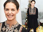 Mandatory Credit: Photo by Startraks Photo/REX Shutterstock (5470073d)\n Katie Holmes\n Glad to Give Event for Giving Tuesday, New York, America - 01 Dec 2015\n Katie Holmes donates coats to nonprofit One Warm Coat at Glad to Give Event for Giving Tuesday\n