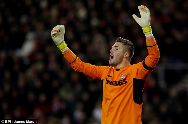 Jack Butland has been outstanding for Stoke since taking over as the No 1 after departure of Asmir Begovic