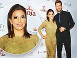 MIAMI, FL - DECEMBER 03:  Eva Longoria and Ricky Martin attend Global Gift Foundation Dinner at Auberge Residences & Spa sales office on December 3, 2015 in Miami, Florida.  (Photo by Rebecca Smeyne/Getty Images)