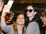 Sao Paulo, Brazil - Actress Krysten Ritter, who is in Brazil to promote 'Breaking Bad' during Comic Con Experience 2015, was greeted by dozens of fans as she touched down in Sao Paulo this afternoon. AKM-GSI           December  3, 2015 To License These Photos, Please Contact :    Steve Ginsburg  (310) 505-8447  (323) 423-9397  steve@akmgsi.com  sales@akmgsi.com    or    Maria Buda  (917) 242-1505  mbuda@akmgsi.com  ginsburgspalyinc@gmail.com
