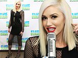 "NEW YORK, NY - DECEMBER 03:  Gwen Stefani Visits ""The Elvis Duran Z100 Morning Show"" at Z100 Studio on December 3, 2015 in New York City.  (Photo by Robin Marchant/Getty Images)"