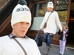 December 4, 2015: Pink Alecia Beth Moore  and her daughter Willow Sage Hart are seen leaving the greenback hotel in New York City this morning.\nMandatory Credit: Elder Ordonez/INFphoto.com Ref: infusny-160