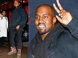 EXCLUSIVE: Kanye West is all smiles as he leaves a business dinner at Carbone and signs a fans iPhone case in New York City\n\nPictured: Kanye West\nRef: SPL1188528  021215   EXCLUSIVE\nPicture by: We Dem BoyZ / Splash News\n\nSplash News and Pictures\nLos Angeles: 310-821-2666\nNew York: 212-619-2666\nLondon: 870-934-2666\nphotodesk@splashnews.com\n