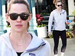 Picture Shows: Jennifer Garner  December 02, 2015\n \n Newly single actress and busy mom Jennifer Garner hits the gym in Brentwood, California for a workout. Jennifer recently reunited with her estranged husband to celebrate their daughter Violet's 10th birthday. \n \n Non Exclusive\n UK RIGHTS ONLY\n \n Pictures by : FameFlynet UK © 2015\n Tel : +44 (0)20 3551 5049\n Email : info@fameflynet.uk.com