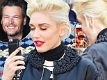 EXCLUSIVE: Gwen Stefani and Blake Shelton spend some time Facetiming while she spends the day at Disneyland with her family. Gwen Stefani was all smiles as she spent a little while Facetiming with her new boyfriend Blake Shelton as she walked through the happiest place on earth. Gwen even had her son Kingston say hello to Blake as they walked from toontown to the Smallworld ride. \n\nPictured: Gwen Stefani and Blake Shelton\nRef: SPL1185861  271115   EXCLUSIVE\nPicture by: Fern / Splash News\n\nSplash News and Pictures\nLos Angeles: 310-821-2666\nNew York: 212-619-2666\nLondon: 870-934-2666\nphotodesk@splashnews.com\n