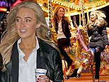 MUST BYLINE: EROTEME.CO.UK Made In Chelsea's Tiffany Watson and Nicola Hughes enjoy a fun time at Winter Wonderland.  The two blonde beauties went on rides and played games while indulging in some Mulled Wine.  EXCLUSIVE   December 5, 2015 Job: 151204L1    London, England EROTEME.CO.UK 44 207 431 1598 Ref: 341629