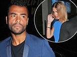 Mandatory Credit: Photo by Rotello/REX Shutterstock (4101692al).. Ashley Cole.. Niall Horan birthday party, Shoreditch House, London, Britain - 06 Sep 2014.. Niall Horan, who turns 21 on 13th September 2014, left the venue at around 3am accompanied by some female friends..