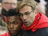 Klopp's (right) impact at Anfield has seen them lose just two of their 12 games since his appointment