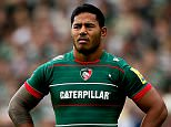 LEICESTER, ENGLAND - SEPTEMBER 06:  Manu Tuilagi of Leicester looks on during the Aviva Premiership match between Leicester Tigers and Newcastle Falcons at Welford Road on September 6, 2014 in Leicester, England.  (Photo by Ben Hoskins/Getty Images for Aviva)