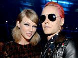 LOS ANGELES, CA - AUGUST 30:  Taylor Swift and Jared Leto attend the 2015 MTV Video Music Awards at Microsoft Theater on August 30, 2015 in Los Angeles, California.  (Photo by Kevin Mazur/MTV1415/WireImage)