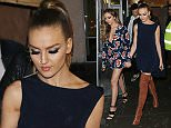 Picture Shows: Jade Thirlwall, Perrie Edwards, Little Mix  December 07, 2015    Little Mix spotted at Tape nightclub in London, England with Aston Merrygold and Marvin Humes of the JLS.    Non Exclusive  WORLDWIDE RIGHTS    Pictures by : FameFlynet UK © 2015  Tel : +44 (0)20 3551 5049  Email : info@fameflynet.uk.com