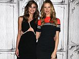 NEW YORK, NY - DECEMBER 07:  Taylor Hill and Behati Prinsloo attend AOL BUILD Series: Victoria's Secret Angels Behati Prinsloo And Taylor Hill at AOL Studios In New York on December 7, 2015 in New York City.  (Photo by Laura Cavanaugh/Getty Images)