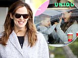 Jennifer Garner steps out with children Violet, Seraphina, and Samuel in Brentwood. The mother of three was wearing NO MAKE UP, displaying eye bags during her coffee run. Her assistant was also seen carrying a mini Christmas tree. December 3, 2015 X17online.com \nOK FOR WEB SITE AT 20PP\nMAGAZINES NORMAL FEES\nAny queries please call Lynne or Gary on office 0034 966 713 949 \nGary mobile 0034 686 421 720 \nLynne mobile 0034 611 100 011\nAlasdair mobile  0034 630 576 519