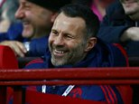 Manchester United assistant manager Ryan Giggs during the Barclays Premier League match between Manchester United and West Ham United played at Old Trafford, Manchester on December 5th 2015