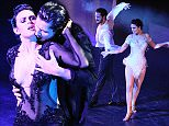 MIAMI, FL - DECEMBER 05:  Valentin Chmerkovskiy and Rumer Willis perform onstage during SWAY: A Dance Trilogy at Gusman Center for the Performing Arts on December 5, 2015 in Miami, Florida.  (Photo by Sergi Alexander/Getty Images)
