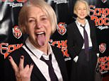 Mandatory Credit: Photo by Stephen Lovekin/Variety/REX Shutterstock (5479935o)\n Helen Mirren\n 'School of Rock' musical opening night, New York, America - 06 Dec 2015\n \n