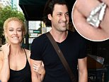 December 6, 2015: Newly engaged couple Maksim Chmerkovskiy and Petra Murgatroyd from Dancing With The Stars,  arrive to the Olympia Theatre in Miami. The couple, who got engaged on stage the previous night, looked happy as they were arm-in-arm and had big smiles on their faces.\nMandatory Credit: INFphoto.com Ref: infusmi-11/13