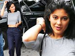 EXCLUSIVE: Kylie Jenner and Hailey Baldwin bear their midriff arrive at a special performance with Jaden Smith on the day that sister Kim Kardashian gave birth, in Miami Beach, FL\n\nPictured: Kylie Jenner and Hailey Baldwin\nRef: SPL1190262  051215   EXCLUSIVE\nPicture by: Splash News\n\nSplash News and Pictures\nLos Angeles: 310-821-2666\nNew York: 212-619-2666\nLondon: 870-934-2666\nphotodesk@splashnews.com\n