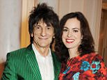 Ronnie Wood and Sally Humphries during The British Fashion Awards 2012 at The Savoy Theatre on November 27, 2012 in London, England.    Pic Credit: Dave Benett
