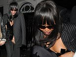 Kate Moss and Naomi Campbell attend a huge house party held at Madonna's home. Both left after only an hour, with Naomi exposing her whole breast as she got into her waiting car Featuring: Naomi Campbell Where: London, United Kingdom When: 04 Dec 2015 Credit: Will Alexander/WENN.com