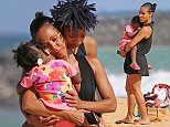 EXCLUSIVE: Jada Pinkett Smith and Willow enjoy some family time in Hawaii. The pair shared a hug with a young girl believed to be Jada's niece. \nphotographs taken: November 27th 2015\n\nPictured: Jada Pinkett Smith and Willow Smith\nRef: SPL1188154  031215   EXCLUSIVE\nPicture by: Splash News\n\nSplash News and Pictures\nLos Angeles: 310-821-2666\nNew York: 212-619-2666\nLondon: 870-934-2666\nphotodesk@splashnews.com\n