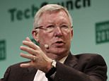 LONDON, ENGLAND - DECEMBER 07:  Sir Alex Ferguson in converstaion with Sir Michael Moritz, Co-authors of Leading: Learning from Life and My Years at Manchester United during TechCrunch Disrupt London 2015 - Day 1 at Copper Box Arena on December 7, 2015 in London, England.  (Photo by John Phillips/Getty Images for TechCrunch)
