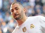 MADRID, SPAIN - DECEMBER 05:  Karim Benzema of Real Madrid celebrates after scoring his team's opening goal during the La Liga match between Real Madrid CF and Getafe CF at Estadio Santiago Bernabeu on December 5, 2015 in Madrid, Spain.  (Photo by Denis Doyle/Getty Images)