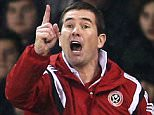 Nigel Clough, manager of Sheffield United gives instructions during the Capital One Cup Quarter-Final match between Sheffield United and Southampton at Bramall Lane on December 16, 2014 in Sheffield, England.  (Photo by Clive Mason/Getty Images)