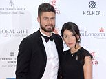 Olivier and Jennifer Giroud attending the 6th Annual Global Gift Gala at the Four Seasons Hotel in London.