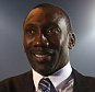 LONDON, ENGLAND - DECEMBER 07:  Jimmy Floyd Hasselbaink poses for a photo during a press conference to announce him as the new Queens Park Rangers Manager on December 7, 2015 in London, England.  (Photo by Bryn Lennon/Getty Images)