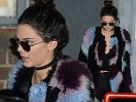 7 December 2015 - EXCLUSIVE.\nKendall Jenner seen leaving a photo shoot in London this evening. Erik Torstensson was the photographer on the shoot and has done a lot of previous work with GQ magazine. \n**UK SALES ONLY**\nCredit: Ben Eade/GoffPhotos.com   Ref: KGC-102\n**Exclusive to GoffPhotos.com - Papers Allrounder - Mags Double Space Rates - Web/Online MUST CALL BEFORE USE**